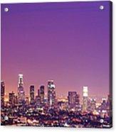 Los Angeles At Dusk Acrylic Print