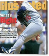 Los Angeles Dodgers Hideo Nomo... Sports Illustrated Cover Acrylic Print