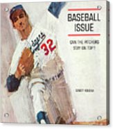 Los Angeles Dodgers Sandy Koufax Sports Illustrated Cover Acrylic Print
