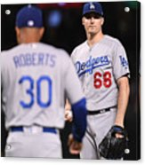 Los Angeles Dodgers V Arizona Acrylic Print