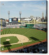 Los Angeles Dodgers V Pittsburgh Pirates Acrylic Print