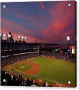 Los Angeles Dodgers V San Francisco Acrylic Print