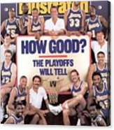 Los Angeles Lakers Sports Illustrated Cover Acrylic Print