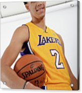 Los Angeles Lakers Introduce Lonzo Ball Acrylic Print