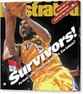 Los Angeles Lakers Kobe Bryant, 2000 Nba Western Conference Sports Illustrated Cover Acrylic Print
