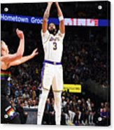 Los Angeles Lakers V Denver Nuggets Acrylic Print