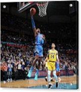 Los Angeles Lakers V Oklahoma City Acrylic Print