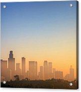 Los Angeles Sunset Acrylic Print