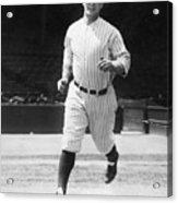 Lou Gehrig Working Out Acrylic Print