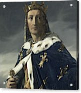 Louis Viii, King Of France Acrylic Print