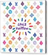 Louis Vuitton Monogram-10 Acrylic Print