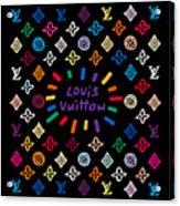 Louis Vuitton Monogram-11 Acrylic Print