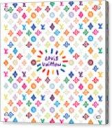 Louis Vuitton Monogram-12 Acrylic Print