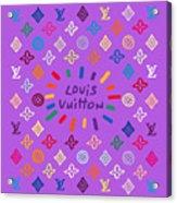 Louis Vuitton Monogram-8 Acrylic Print