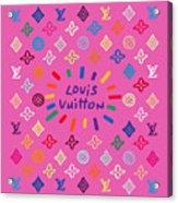 Louis Vuitton Monogram-9 Acrylic Print
