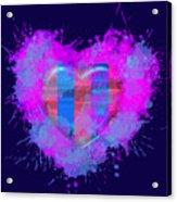 Love Barcelona Acrylic Print