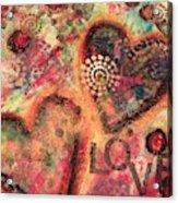 Love 2 Acrylic Print