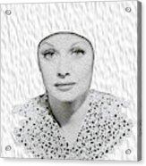 Lucille Ball 2a Acrylic Print