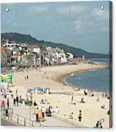 Lyme Regis Beach Acrylic Print