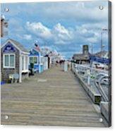Macmillan Pier Provincetown Cape Cod Massachusetts 01 Acrylic Print
