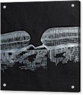 Macular Hole Oct Acrylic Print