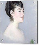 Mademoiselle Isabelle Lemonnier        Acrylic Print