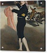 Mademoiselle V      In The Costume Of An Espada  Acrylic Print