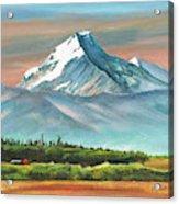 Majestic Mount Cook Acrylic Print