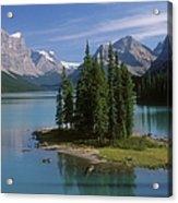 Maligne Lake, Jasper National Park Acrylic Print