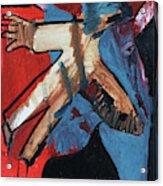 Man Flying Acrylic Print