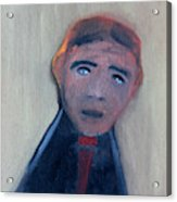 Man In A Black Shirt Acrylic Print