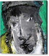 Man In A Scarf Acrylic Print