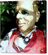 Man In Bushes Acrylic Print