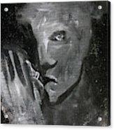 Man In The Dark Acrylic Print
