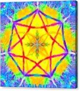 Mandala 12 9 2018 Acrylic Print