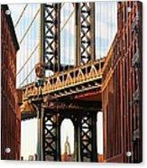 Manhattan Bridge, Brooklyn, New York Acrylic Print