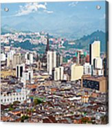 Manizales City View, Colombia Acrylic Print
