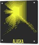 Map Of Alaska Acrylic Print