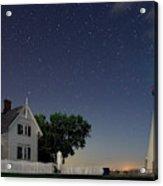 Marblehead Lighthouse At Night Acrylic Print