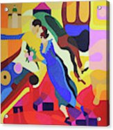 Marc And Bella Chagall Acrylic Print