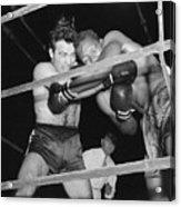 Marcel Cerdan And Holman Williams Boxing Acrylic Print