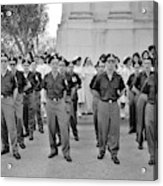 Marchers And Convent Members Acrylic Print