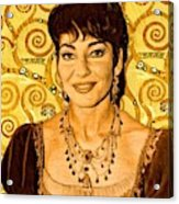 Maria Callas Acrylic Print