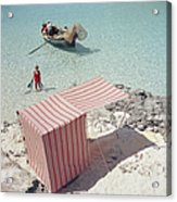 Marietine Birnie, Blue Lagoon Acrylic Print