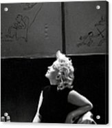 Marilyn Candid Moment Acrylic Print