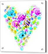 Marine Love Acrylic Print