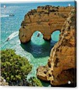 Marinha Arches, Portugal Acrylic Print