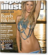 Marisa Miller Swimsuit Issue 2008 Sports Illustrated Cover Acrylic Print