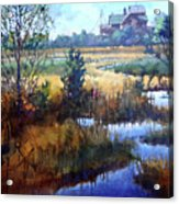 Marsh Living Acrylic Print