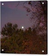 Marvelous Moonrise Acrylic Print